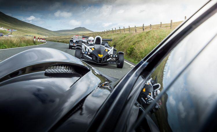 Britain's Most Brutish: Ariel Atom 3.5R, McLaren P1, and Morgan Plus 8