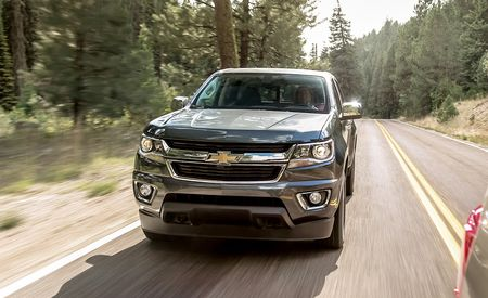 2015 Chevrolet Colorado LT Crew Cab 4WD