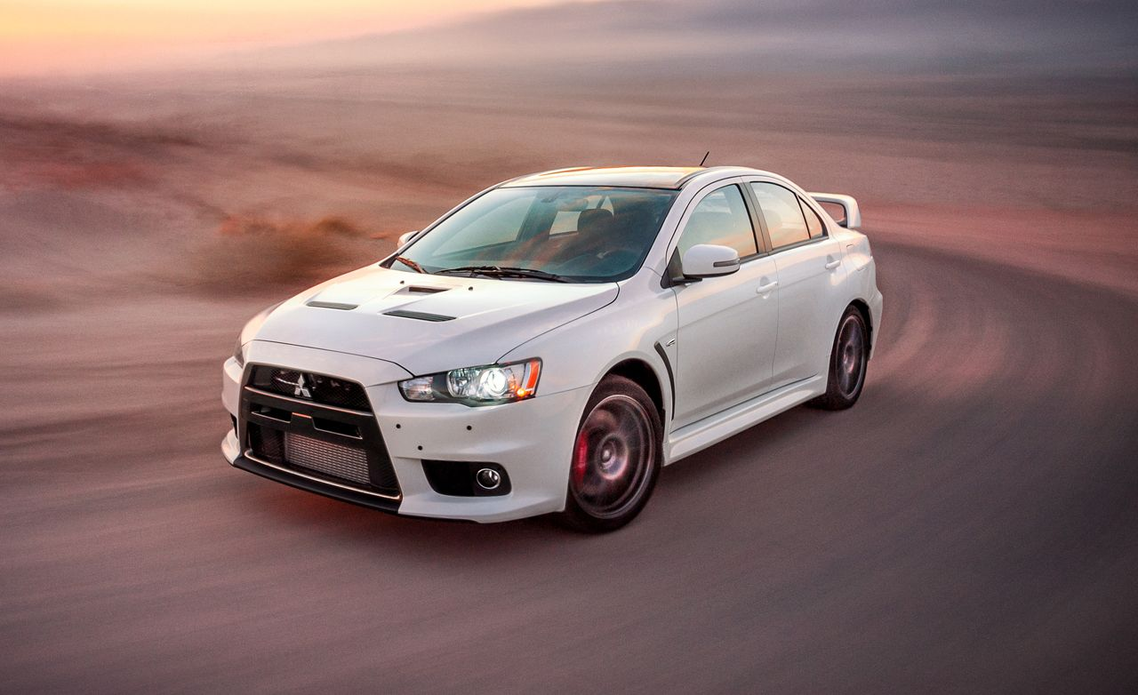 2015 Mitsubishi Lancer Evolution Final Edition Test