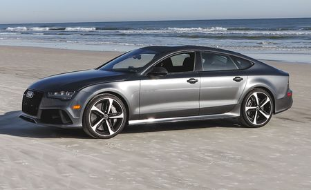 Audi RS Reviews Audi RS Price Photos And Specs Car And Driver - Audi rs7 0 60