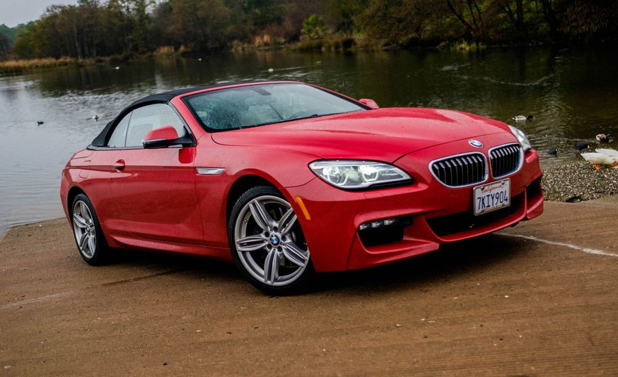 BMW I Convertible Test Review Car And Driver - Bmw 640i convertible 2014