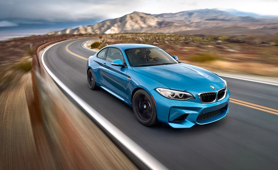 Pouring It On: 2016 BMW M2 vs. Death Valley