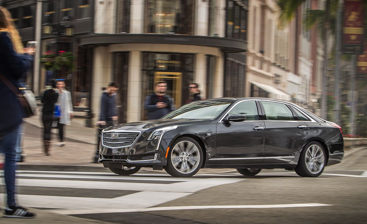 2016 Cadillac Ct6 3 0t Awd Test Review Car And Driver