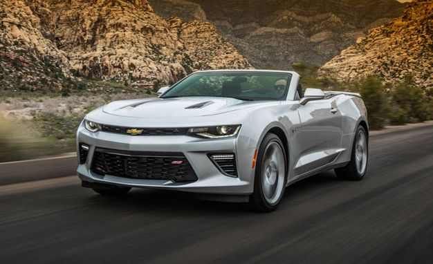 2016 chevrolet camaro convertible first drive