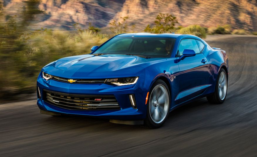 2016 Chevrolet Camaro First Drive Review Car And Driver