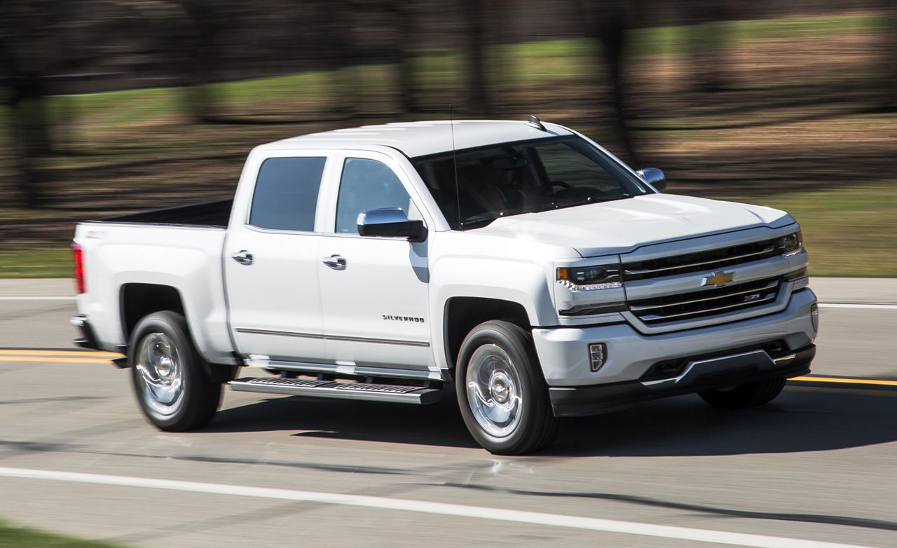 2016 Chevrolet Silverado 1500 Z71 5 3l 8 Sd Automatic Test Review Car And Driver