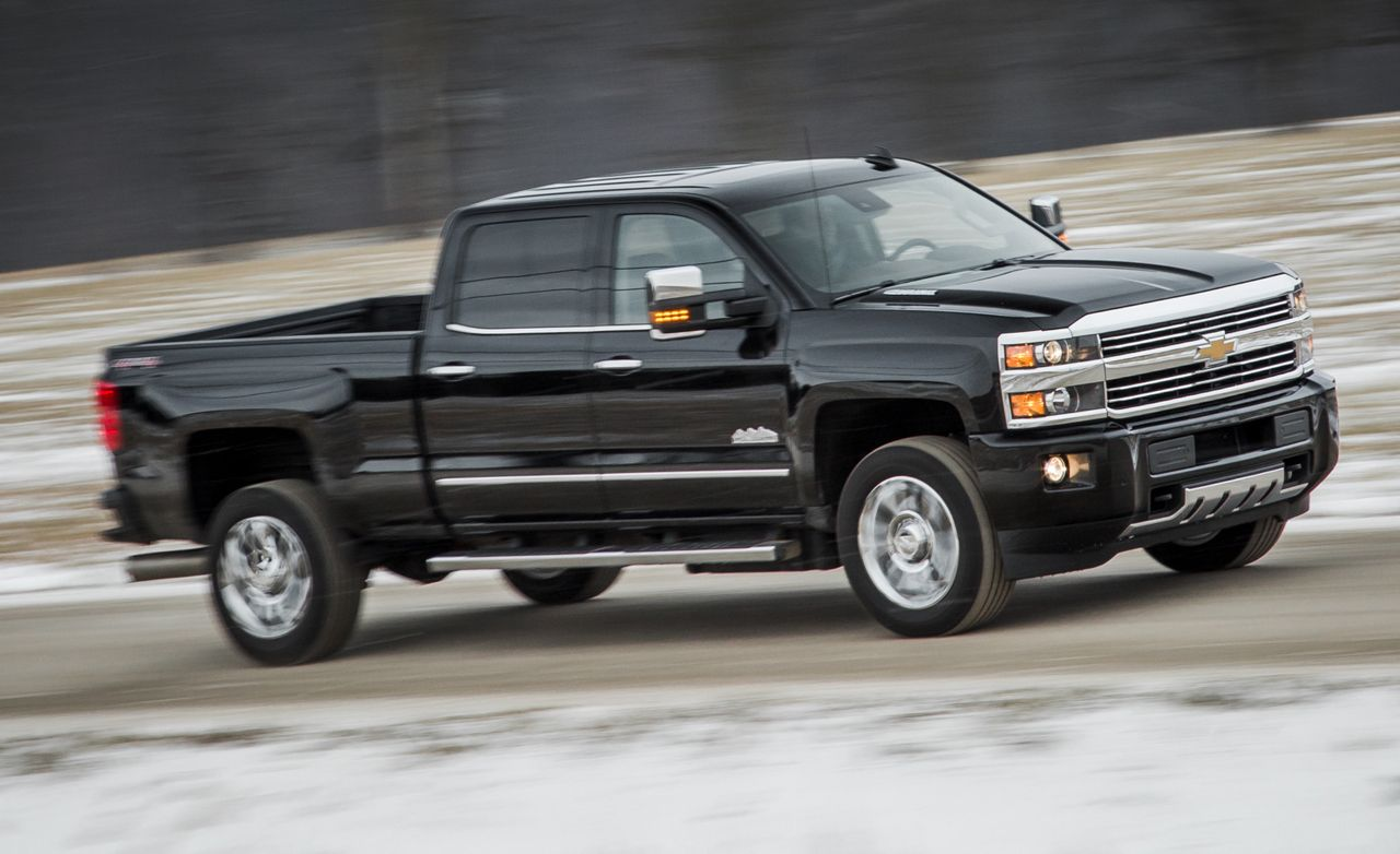 2016 chevrolet silverado 2500hd high country diesel test | review ...