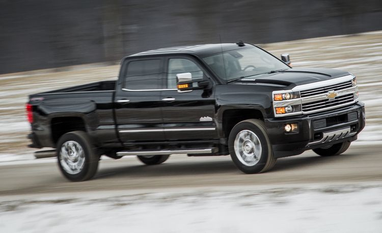 2016 Chevrolet Silverado 2500HD 4x4 High Country Diesel Crew Cab