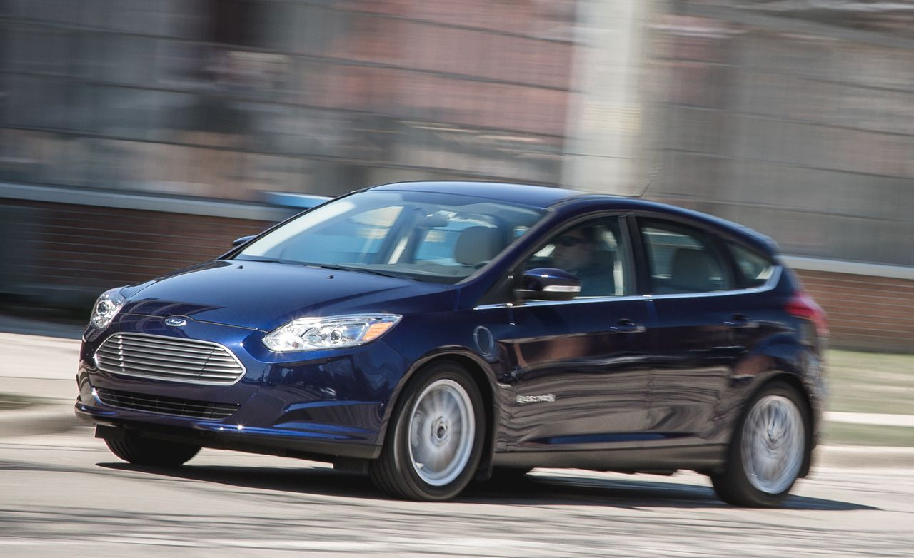 2016 ford focus electric test review car and driver