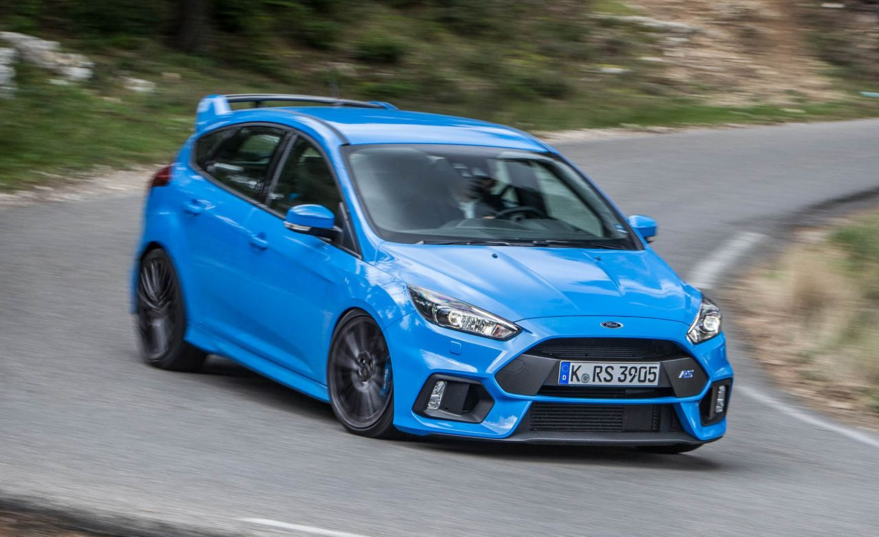 2016 ford focus rs test review car and driver. Black Bedroom Furniture Sets. Home Design Ideas