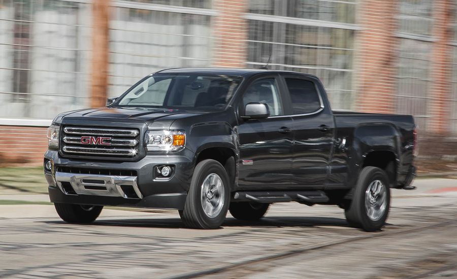 2016 gmc canyon diesel 4x4 test review car and driver. Black Bedroom Furniture Sets. Home Design Ideas