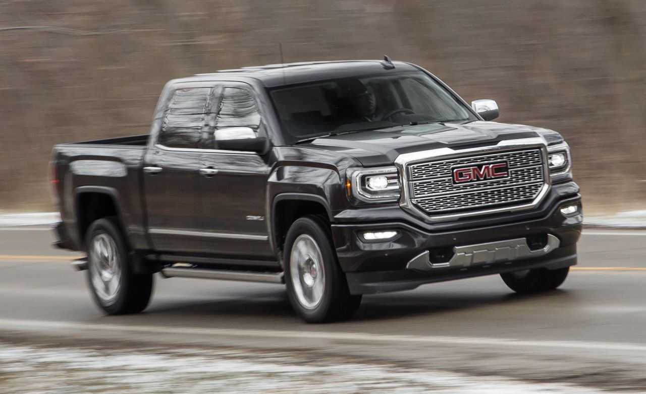 2016 gmc sierra 1500 denali 6 2l v 8 4x4 test review car and driver. Black Bedroom Furniture Sets. Home Design Ideas
