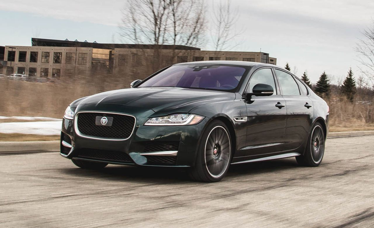 2017 Jaguar Xf In Depth Model Review Car And Driver