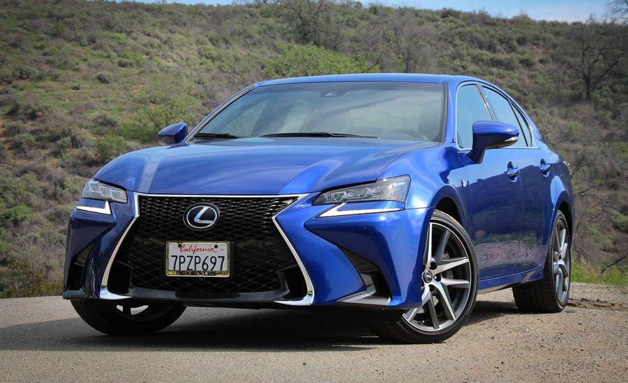 2016 lexus gs350 f sport test review car and driver. Black Bedroom Furniture Sets. Home Design Ideas