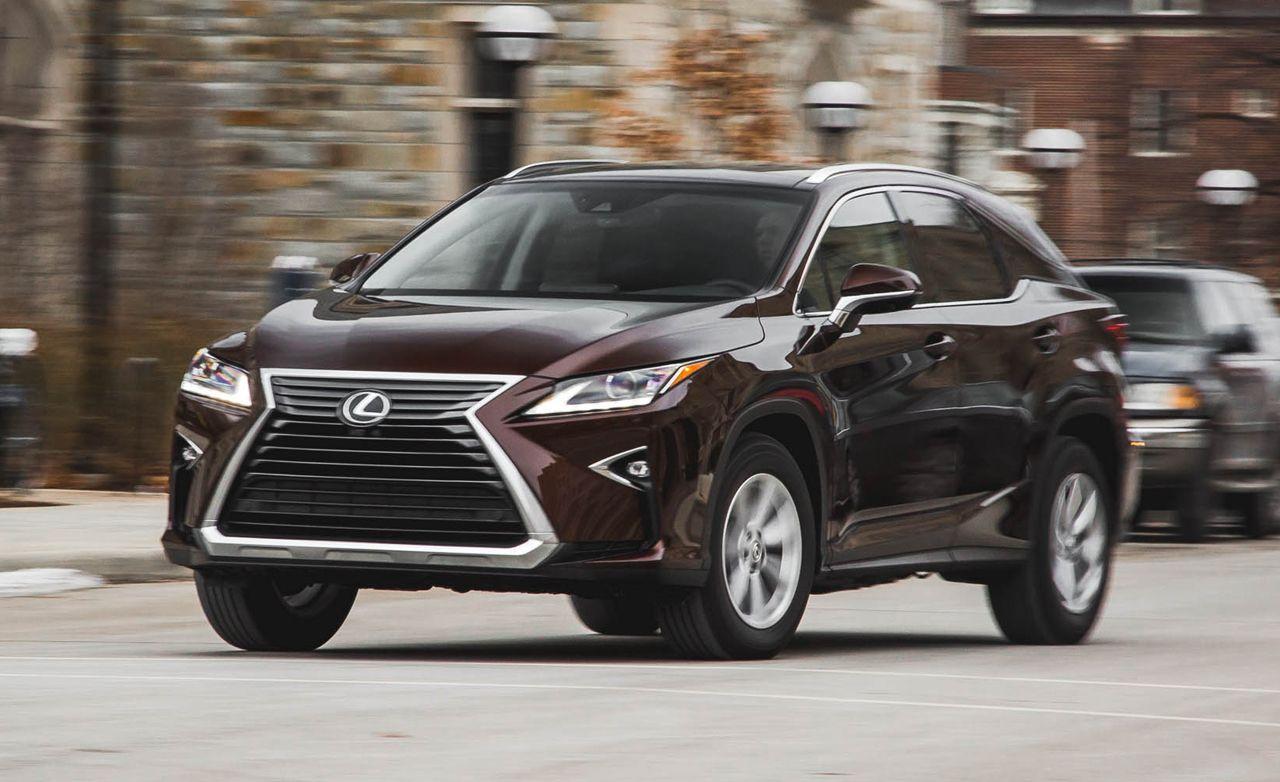 Lexus rx reviews 2016