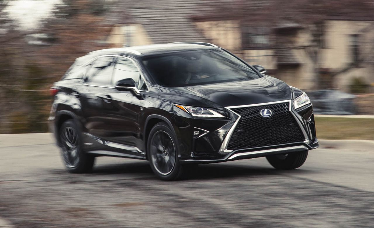 2016 lexus rx450h hybrid awd test review car and driver. Black Bedroom Furniture Sets. Home Design Ideas