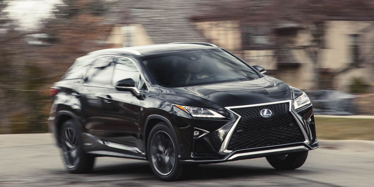 2016 Lexus RX450h Hybrid AWD Test – Review – Car and Driver
