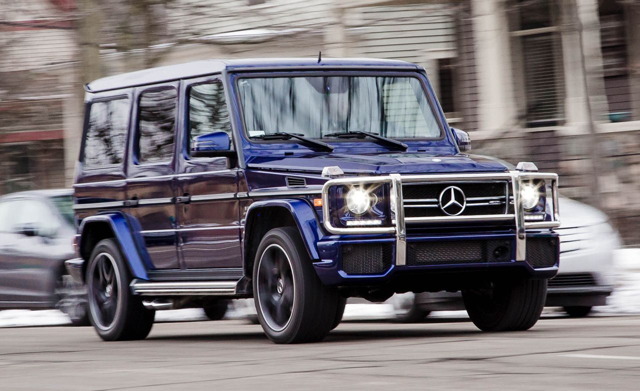 2016 Mercedes-AMG G63 4MATIC Test