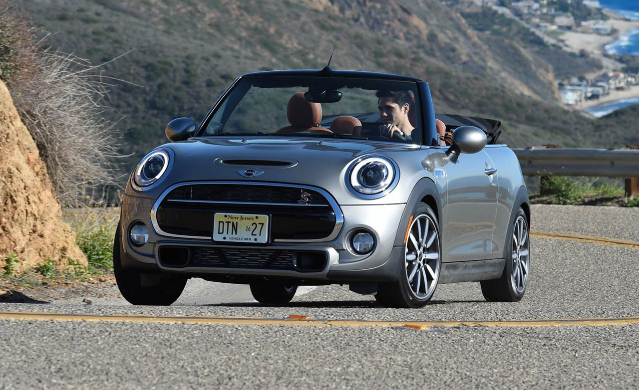 2016 mini cooper convertible first drive review car. Black Bedroom Furniture Sets. Home Design Ideas