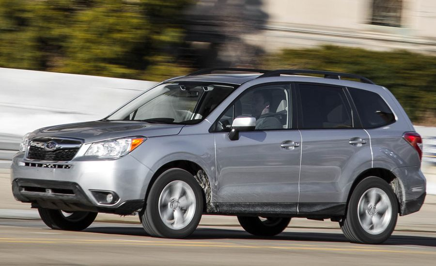 2016 Subaru Forester Boxer In A Box Review Car And Driver