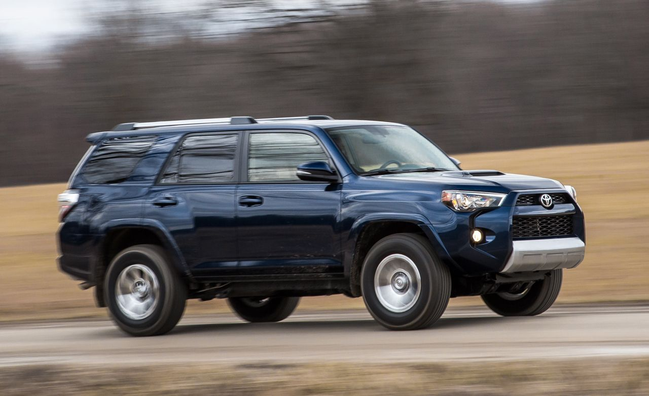 2016 toyota 4runner review car and driver. Black Bedroom Furniture Sets. Home Design Ideas