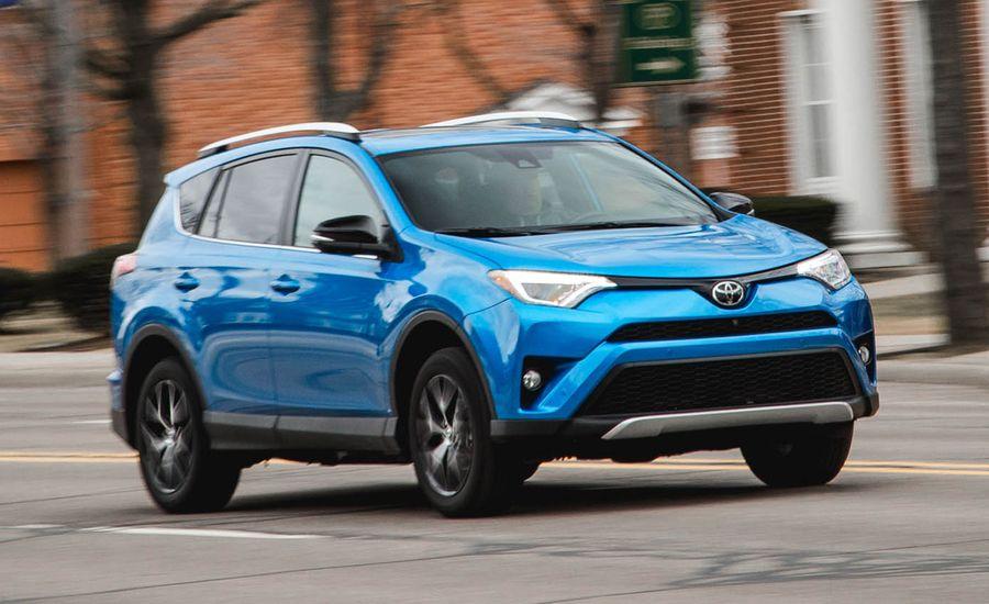 2016 Toyota Rav4 Se Awd