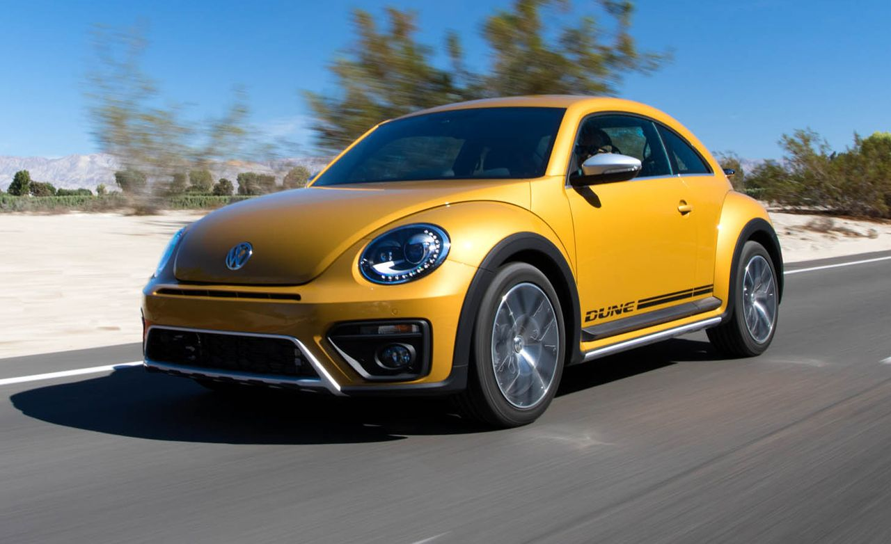 2016 Volkswagen Beetle Dune First Drive Review Car And