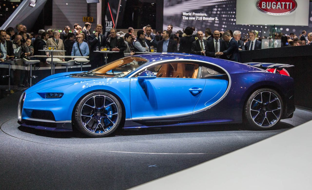 2017 Bugatti Chiron Official Photos And Info