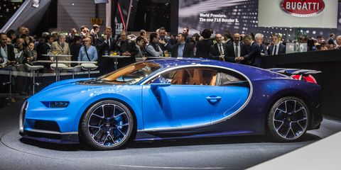 2017 Bugatti Chiron Official Photos And Info 8211 News 8211