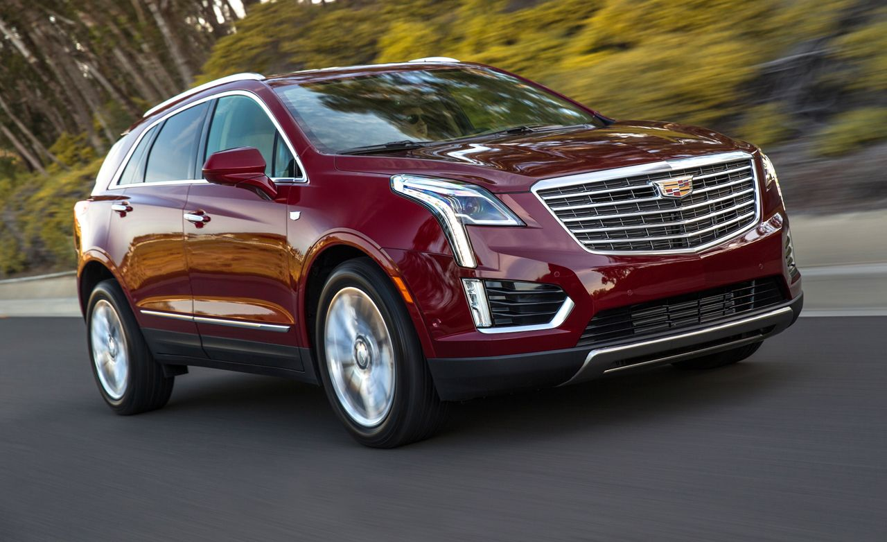 2017 Cadillac Xt5 First Drive Review Car And Driver