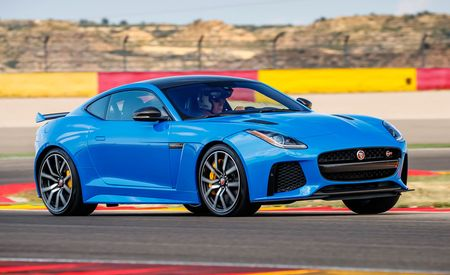 2017 Jaguar F-type SVR