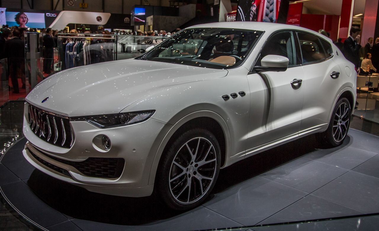 2017 Maserati Levante Revealed: Looks Good, Sounds Good