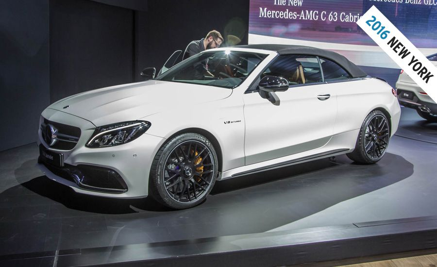 2017 mercedes amg c63 cabriolet photos and info news for How much is a mercedes benz c63 amg