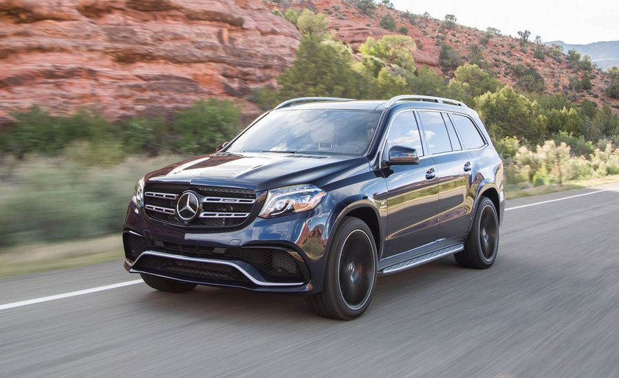 2017 mercedes amg gls63 first drive review car and driver for Used mercedes benz gls450