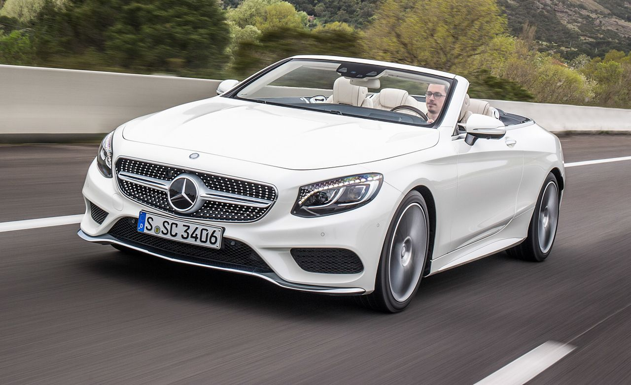 2017 Mercedes Benz S Cl Cabriolet Drive 8211 Review Car And Driver