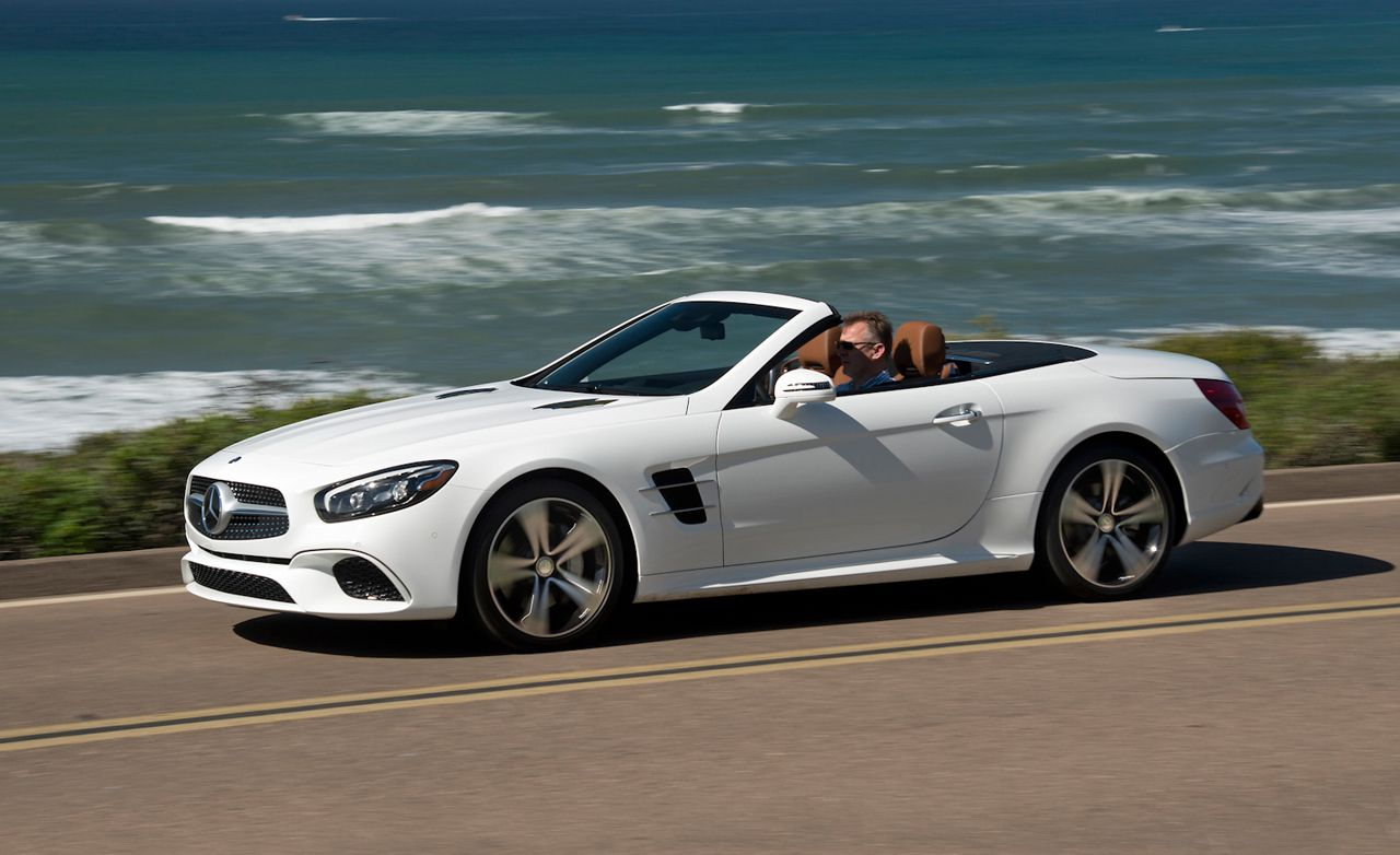 2017 Mercedes Benz Sl Class First Drive Review Car And Driver