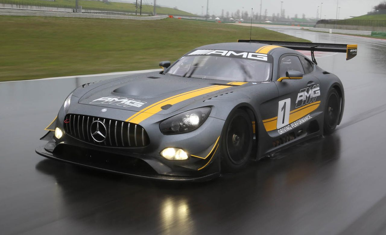 Mercedes amg gt3 race car first drive review car and for Mercedes benz gt3