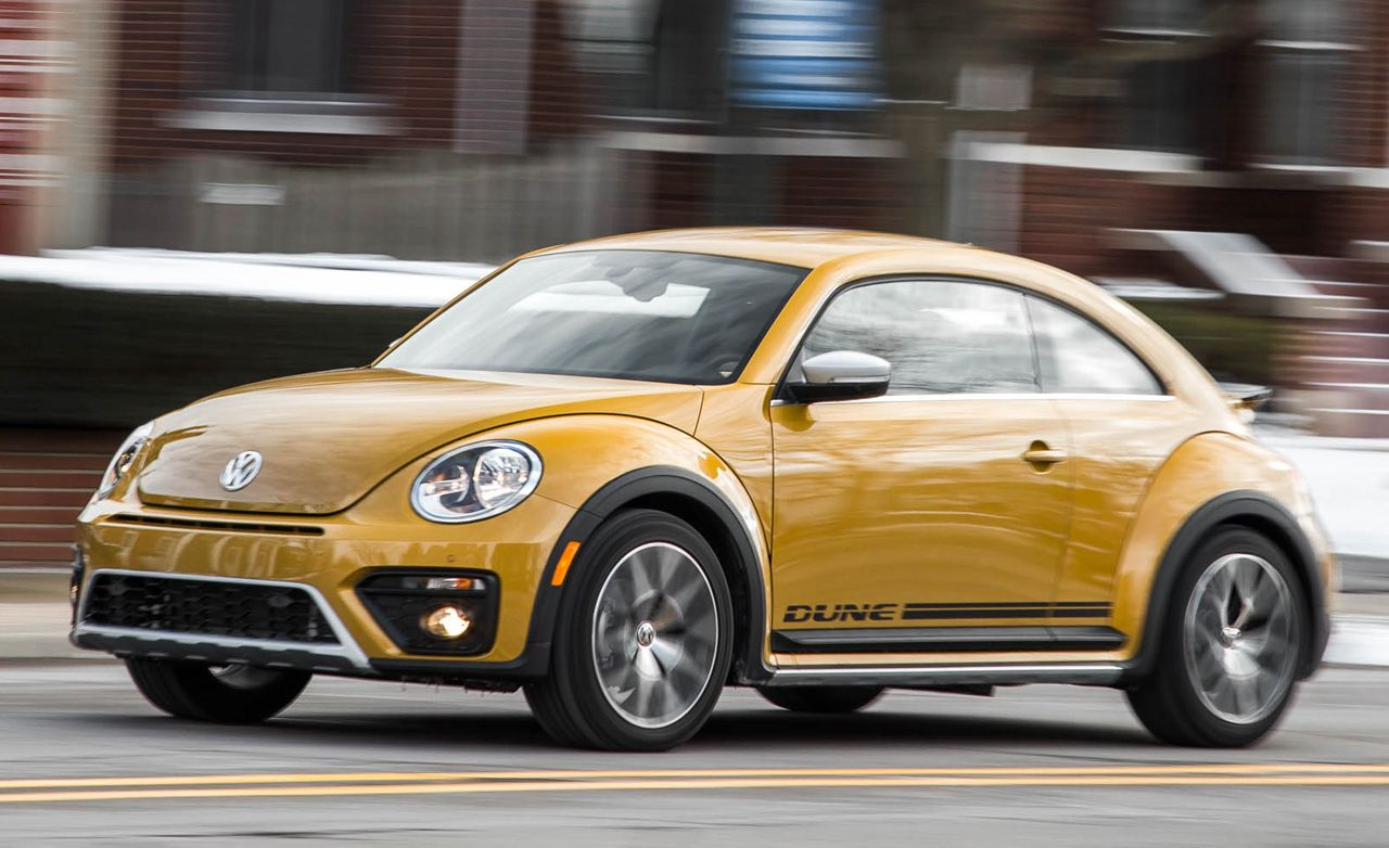 Volkswagen Beetle Dune Test Review Car And Driver