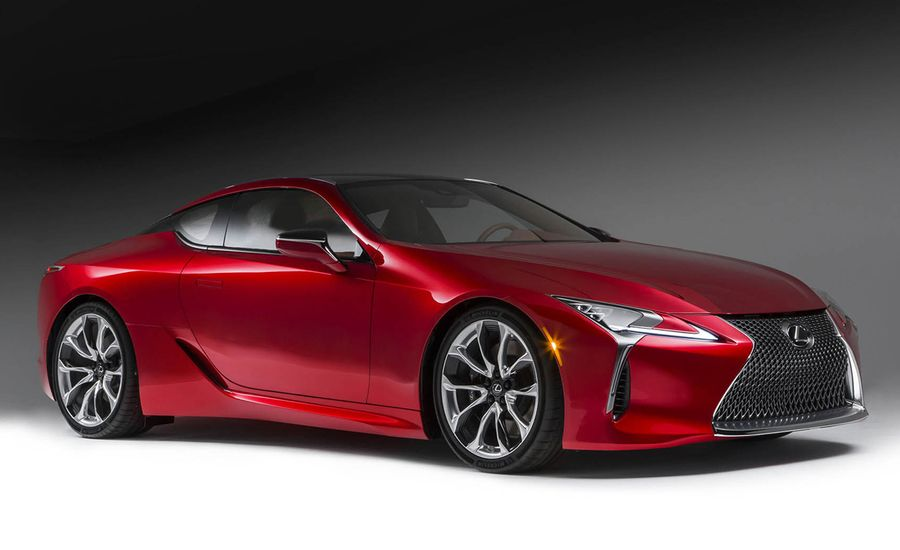 Lexus LC Coupe Dissected Feature Car And Driver - 2017 sports coupe