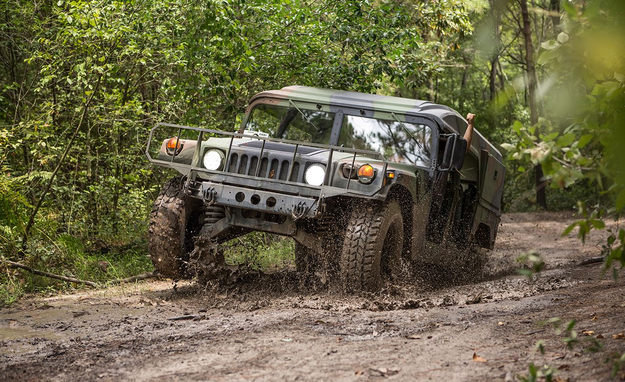 We Get Behind the Wheel of a Surplus Humvee, No Enlistment Required!