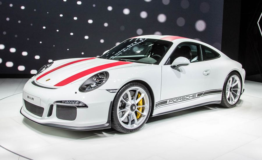 2016 porsche 911 r photos and info news car and driver. Black Bedroom Furniture Sets. Home Design Ideas
