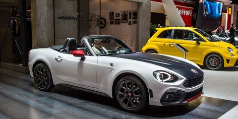 2017 Abarth 124 Spider Official Photos And Info 8211 News 8211