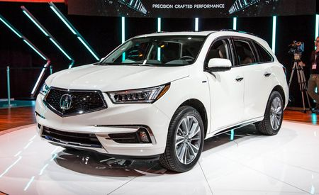2017 Acura MDX: New Hybrid Model, More Standard Safety Gear