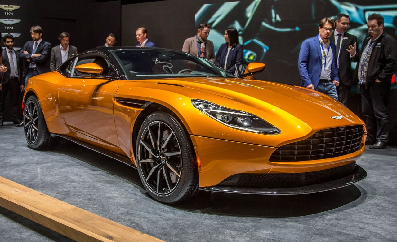 2017 aston martin db11 official photos and info news car and driver