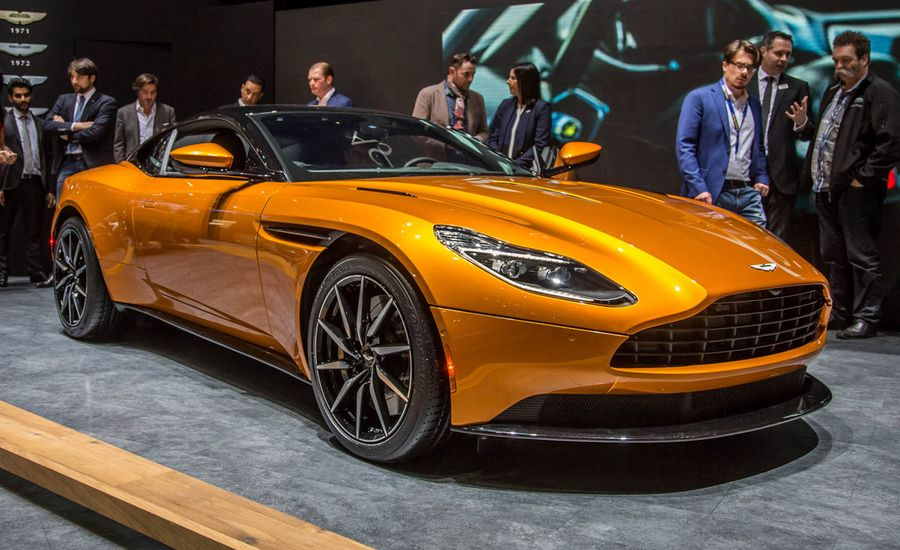 Aston Martin DB Official Photos And Info News Car And Driver - Aston martin news