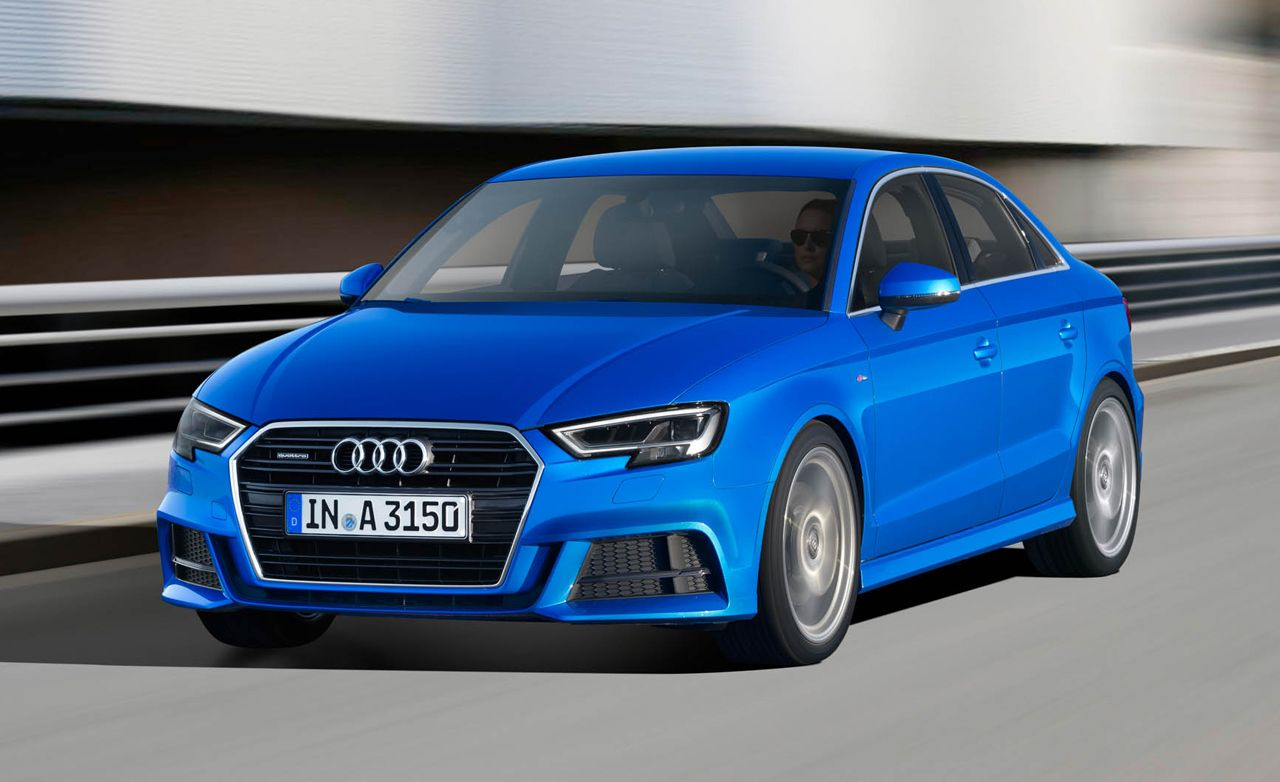 2017 Audi A3 Debuts with Updated Tech, Sharper Looks