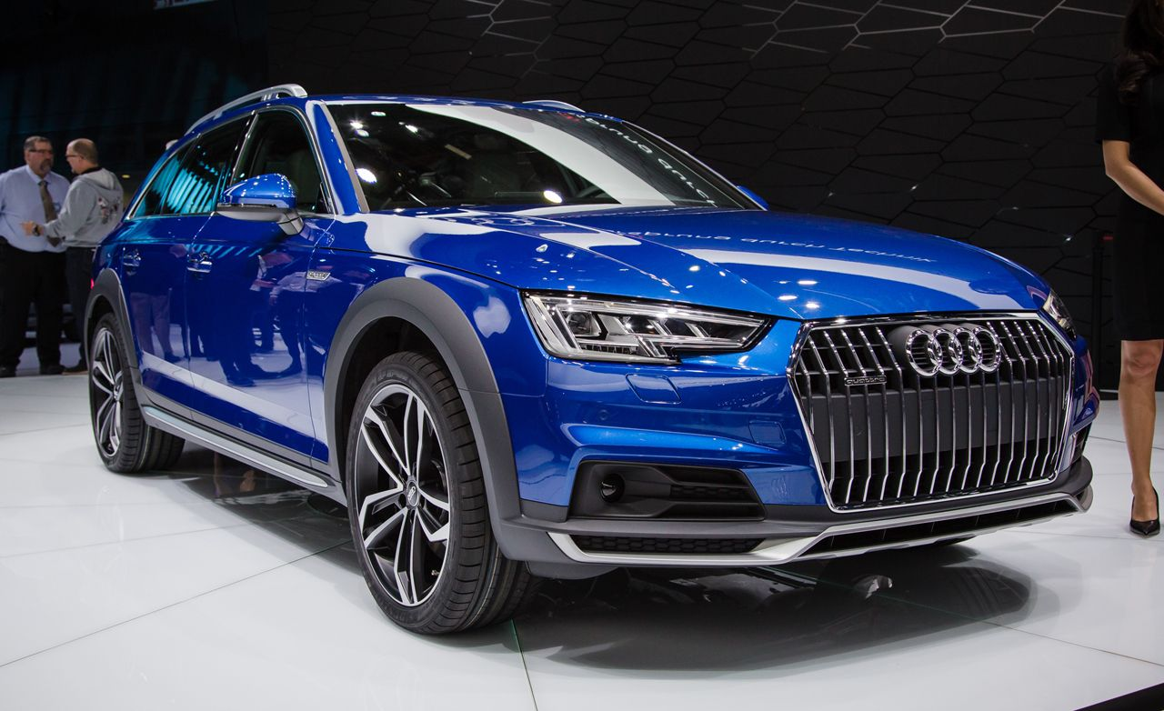 2017 Audi A4 Allroad Quattro: The Only Way We Get an A4 Avant