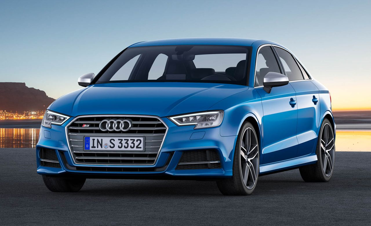 2017 Audi S3 Sedan: More Power and a New-ish Face