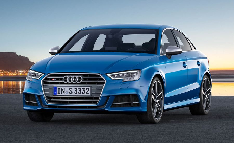 Audi S Sedan Official Photos And Info News Car And Driver - Audi sedan series