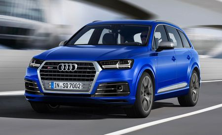 2017 Audi SQ7 TDI: The High-Voltage Diesel SUV